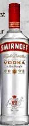 Vodka von Smirnoff