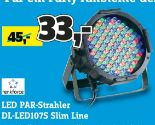 LED PAR-Strahler DL-LED107S Slim Line von Renkforce