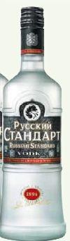 Vodka von Russian Standard