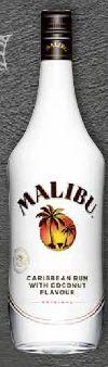 Caribbean White Rum von Malibu