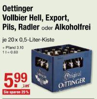 Vollbier Hell von Oettinger
