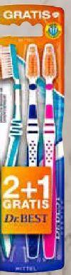 Zahnbürste Zwischenzahn mittel von Dr. Best