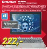Notebook Miix 320-10ICR Platinum von Lenovo