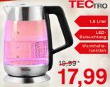 Glas-Wasserkocher WK176 von Tectro