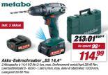 Akku-Bohrschrauber BS 14,4 von Metabo
