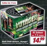 Multi-Effekt-Batterie Voyager von Weco Feuerwerk