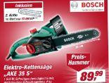 Elektro-Kettensäge AKE 35 S von Bosch