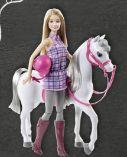 Pferd mit Barbiepuppe von Barbie