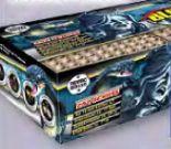 Blue Mamba Feuerwerksbatterie von Lesli Feuerwerk