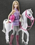Barbie und Pferd von Barbie