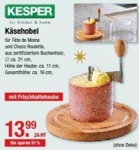 Käsehobel von Kesper