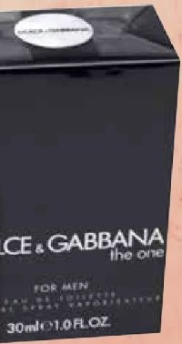 The One for Men EdT von Dolce & Gabbana