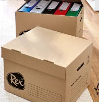 2 Archivkartons von Rex Office