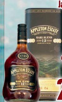 12 Year Rum von Appleton Estate Jamaica Rum