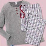 Damen Flanell-Pyjama von Queentex