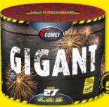Gigant von Comet Feuerwerk