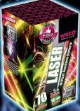 Brillantfontänen Batterie Laser von Weco Feuerwerk