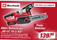 Akku-Kettensäge GE-LC 18 Li Kit von Einhell