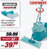Bodenwisch-Set Clean Twist System von Leifheit