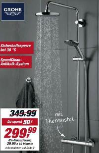Duschsystem Vitalio Joy 180 von Grohe