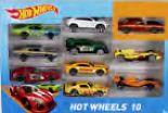Spielzeugautos 10er-Pack von Hot Wheels