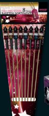 Raketensortiment Falling Stars von Weco Feuerwerk