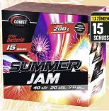 Feuerwerk Summerjam Batteriefeuerwerk von Comet Feuerwerk