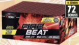Firebeat Batteriefeuerwerk von Comet Feuerwerk