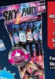 Sky Party Effektstarkes Familien-Sortiment von Weco Feuerwerk