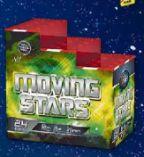 Stufenbatterie Moving Stars von Comet Feuerwerk
