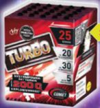 Batterie Turbo von Comet Feuerwerk