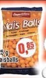 Maisballs von Snackline