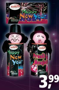 Tischfeuerwerk Happy New Year von Keller Feuerwerk