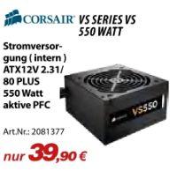 Stromversorgung VS Series VS550 von Corsair