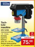 Tischbohrmaschine GTB 13/355 von Güde