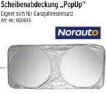 Scheibenabdeckung PopUp von Norauto