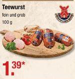 Teewurst von Rügenwalder Mühle