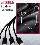 Ladekabel-4 in 1 von Diamond Car