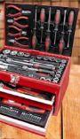 Bestückte Werkzeugbox von Brüder Mannesmann Werkzeuge