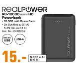 PowerBank PB-10000 MINI HD von RealPower