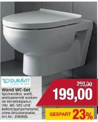 Wand WC-Set von Duravit