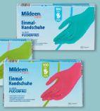 Einmal-Handschuhe von Mildeen