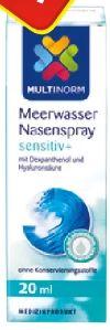Meerwasser Nasenspray von Multinorm