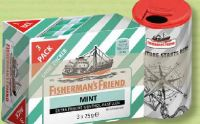Menthol-Pastillen von Fisherman's Friend
