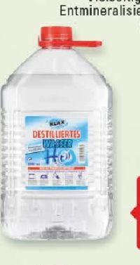 Destilliertes Wasser von Klax