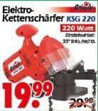 Elektro Kettenschärfgerät KSG 220 von Grizzly