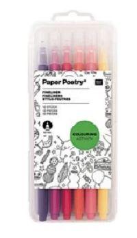 Fineliner Set von Paper Poetry