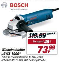 Winkelschleifer GWS 1000 von Bosch