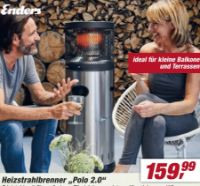 Heizstrahlbrenner Cosy Polo 2.0 von Enders