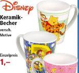 Keramik-Motiv-Becher von Disney
